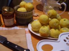 柚子のはちみつ漬け