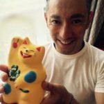 ワハハ(輪葉葉)の黄色い招き猫!海老蔵と同じものの購入方法は?