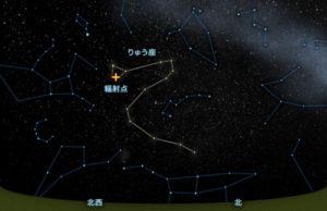 10月りゅうざ座流星群