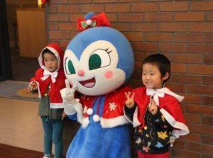仙台アンパンマンクリスマスフォト