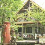 陸前高田市の漂流ポストがあるカフェ『森の小舎』がETVで放送